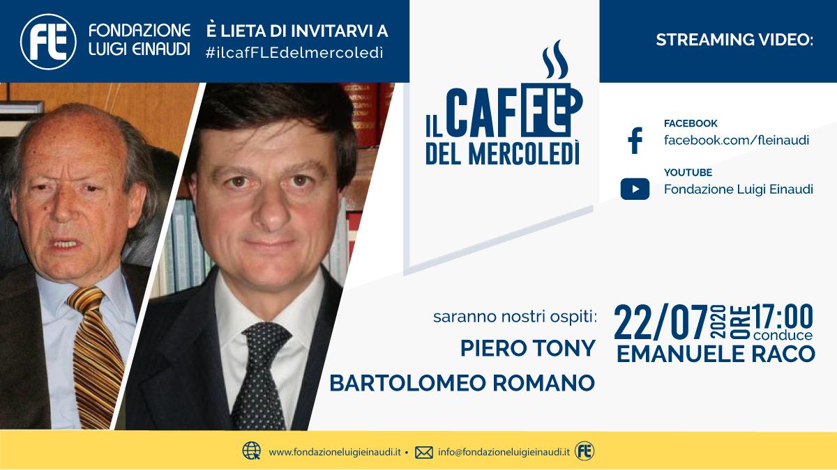 #ilcafFLEdelmercoledì – Piero Tony e Bartolomeo Romano