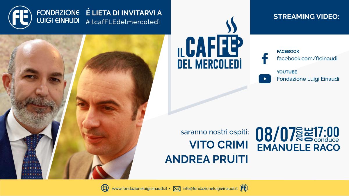 #ilcafFLEdelmercoledì – Vito Crimi e Andrea Pruiti