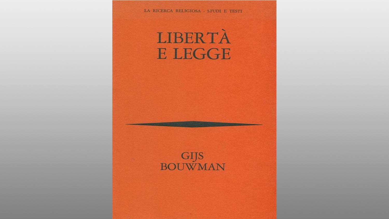 "Michele Gerace legge ""Libertà e legge"" di Gijs Bouwman"