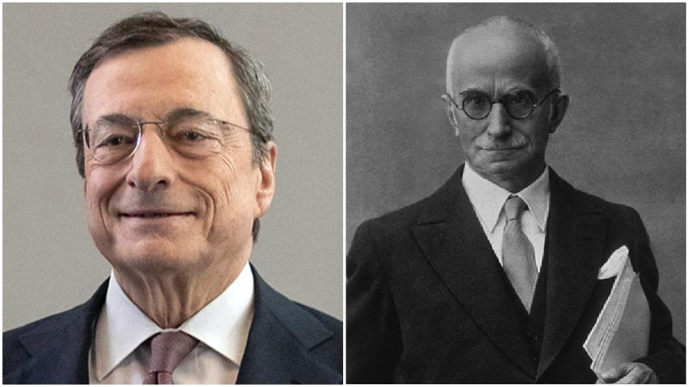 Draghi e la Fondazione Einaudi si possono permettere di non ricercare il consenso
