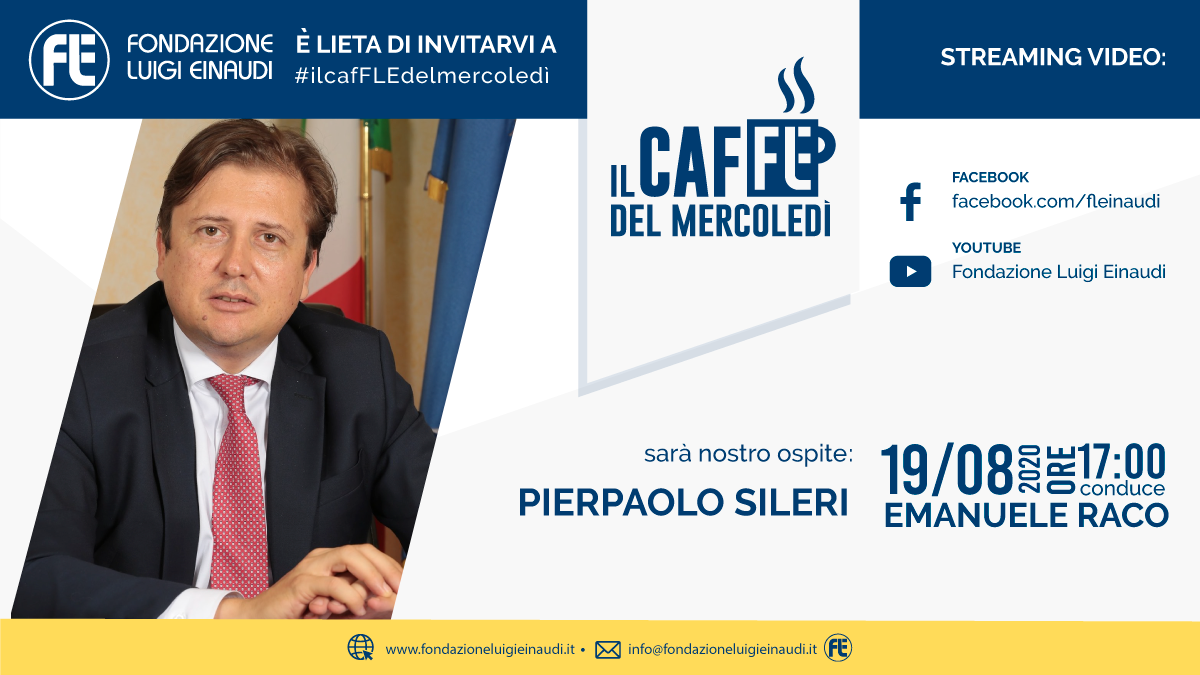 #ilcafFLEdelmercoledì – Pierpaolo Sileri