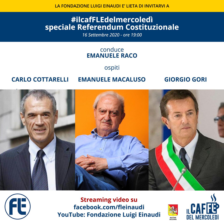 #ilcafFLEdelmercoledì – Cottarelli, Macaluso, Gori