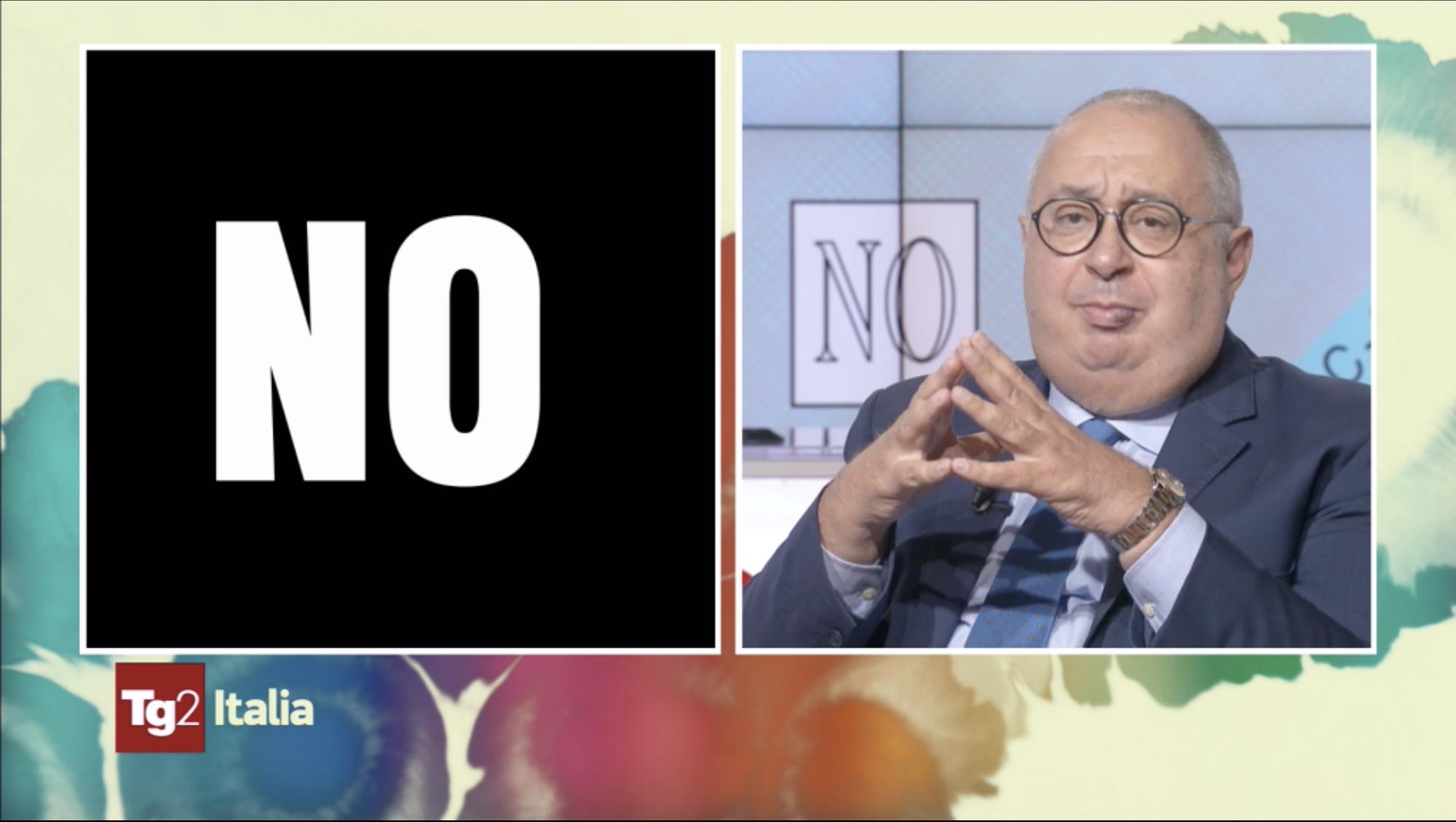 Il Presidente della Fondazione Einaudi spiega le ragioni del NO a Tg2 Italia