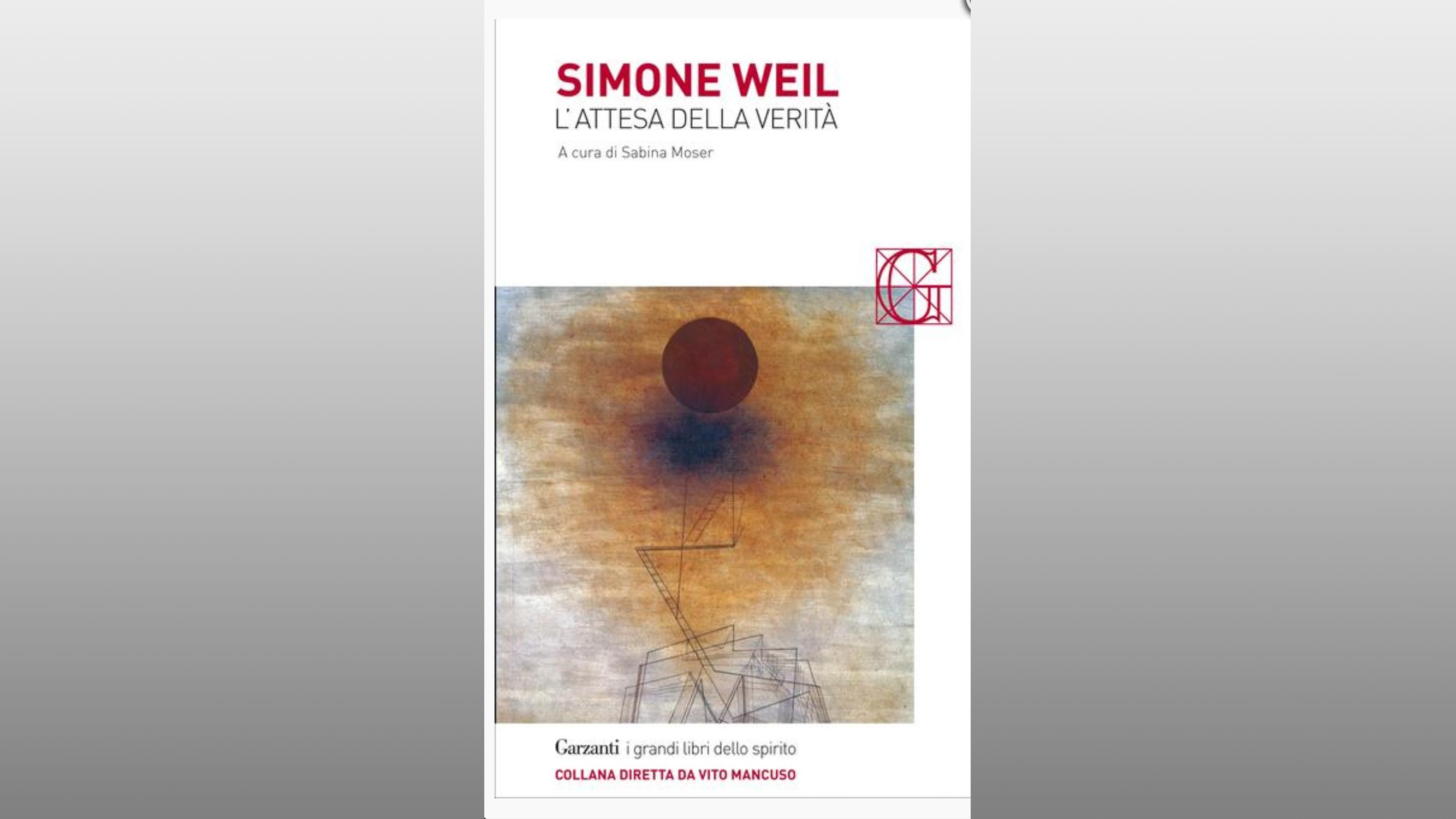 """Michele Gerace legge """"In attesa della verità"""" di Simone Weil"""