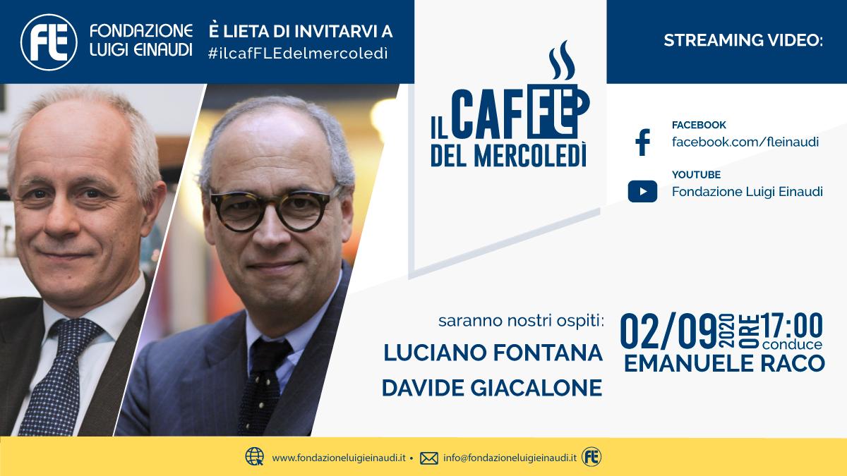 #ilcafFLEdelmercoledì – Luciano Fontana e Davide Giacalone