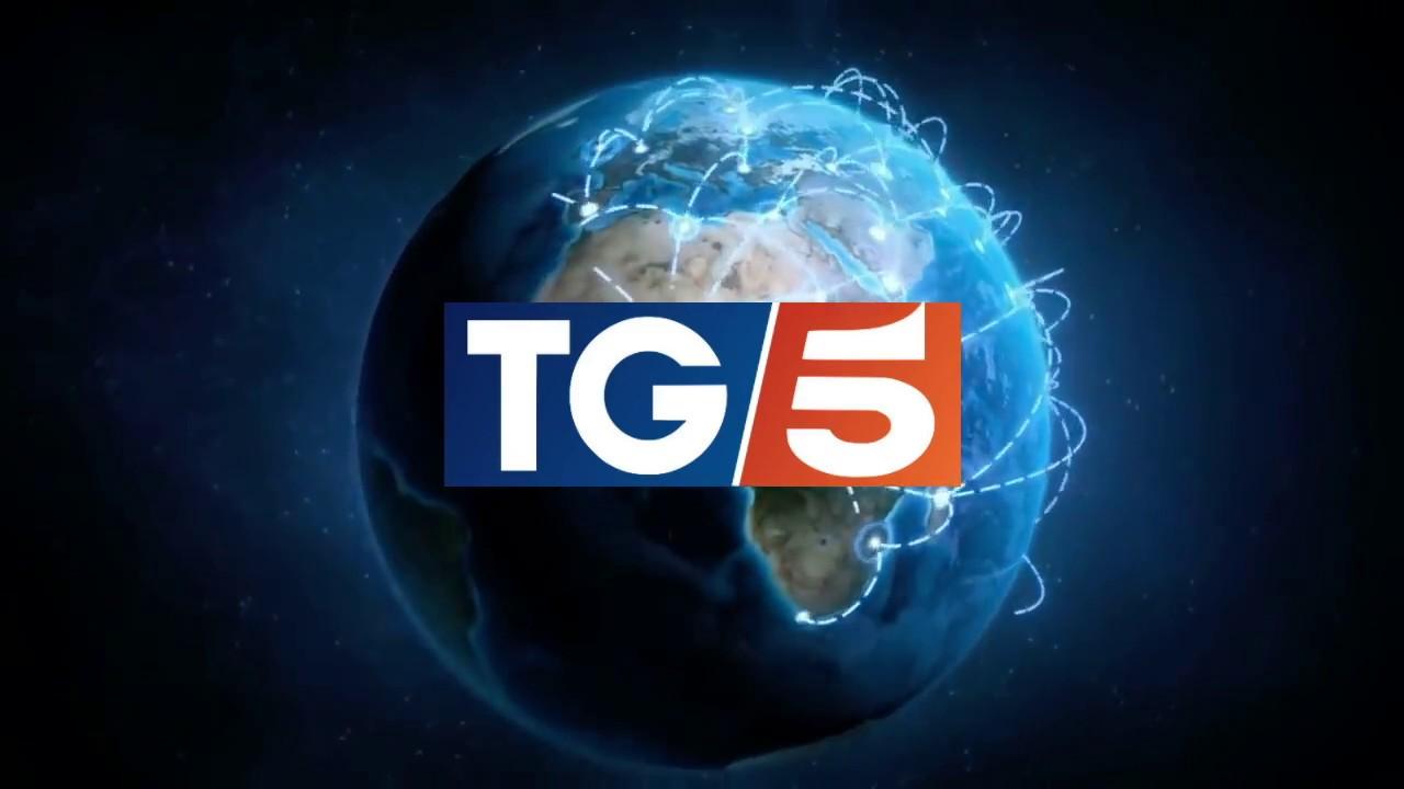 Andrea Pruiti Ciarello al TG5 ore 13:00 del 17 Settembre 2020