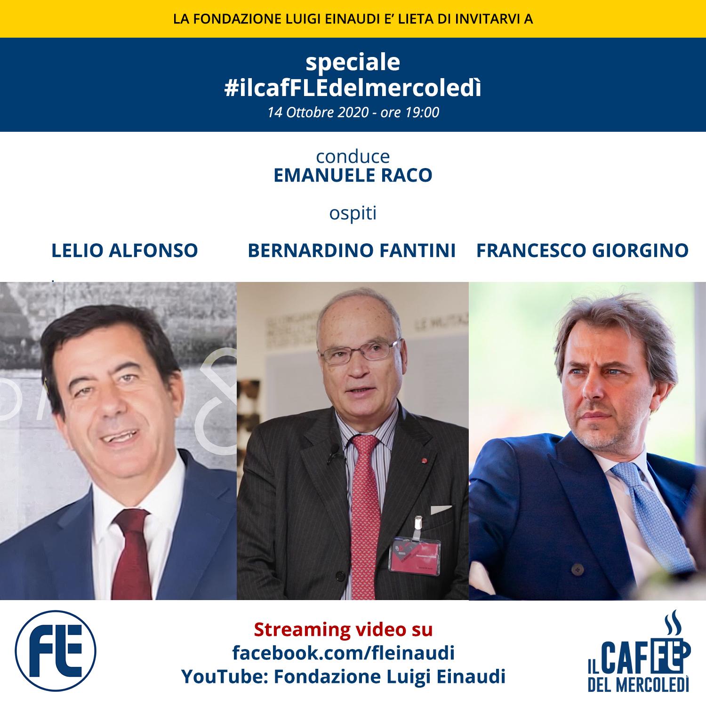 #ilcafFLEdelmercoledì – Lelio Alfonso, Bernardino Fantini, Francesco Giorgino