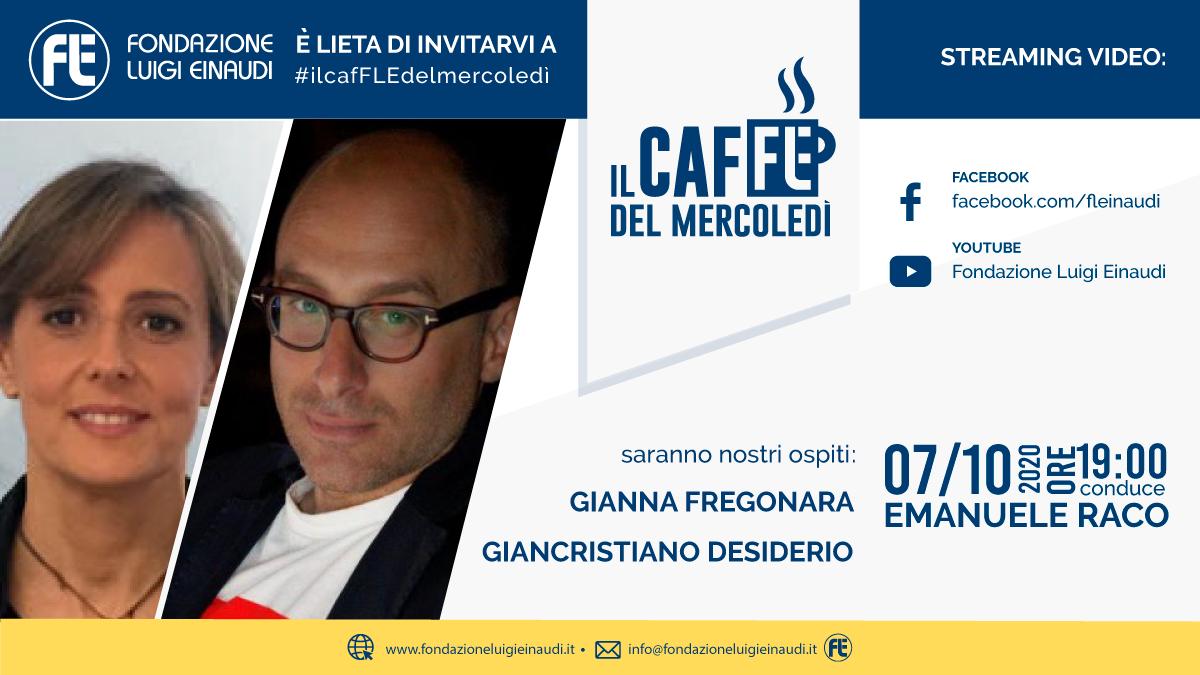 #ilcafFLEdelmercoledì – Gianna Fregonara e Giancristiano Desiderio