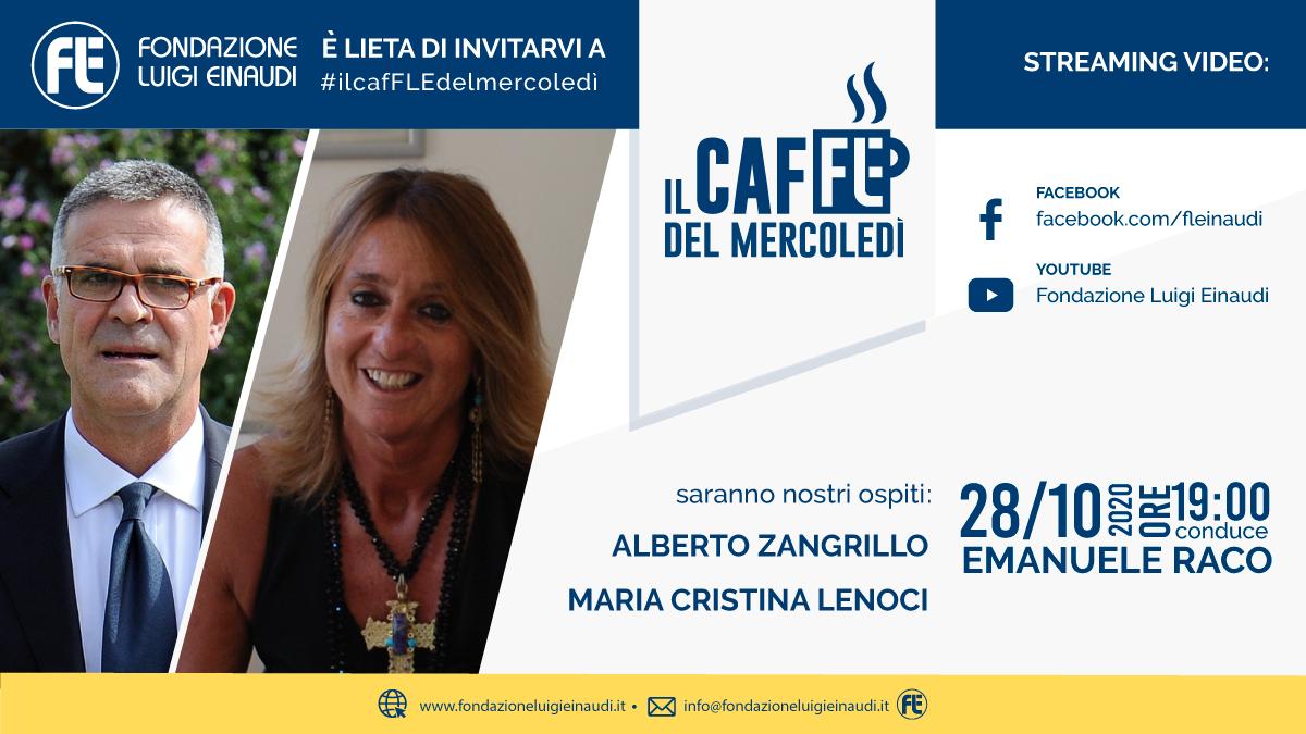 #ilcafFLEdelmercoledì – Alberto Zangrillo e Maria Cristina Lenoci