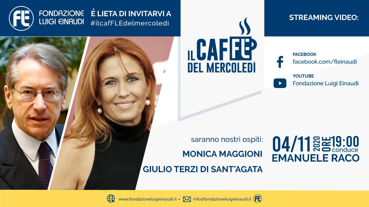 #ilcafFLEdelmercoledì – Giulio Terzi di Sant'Agata and Monica Maggioni
