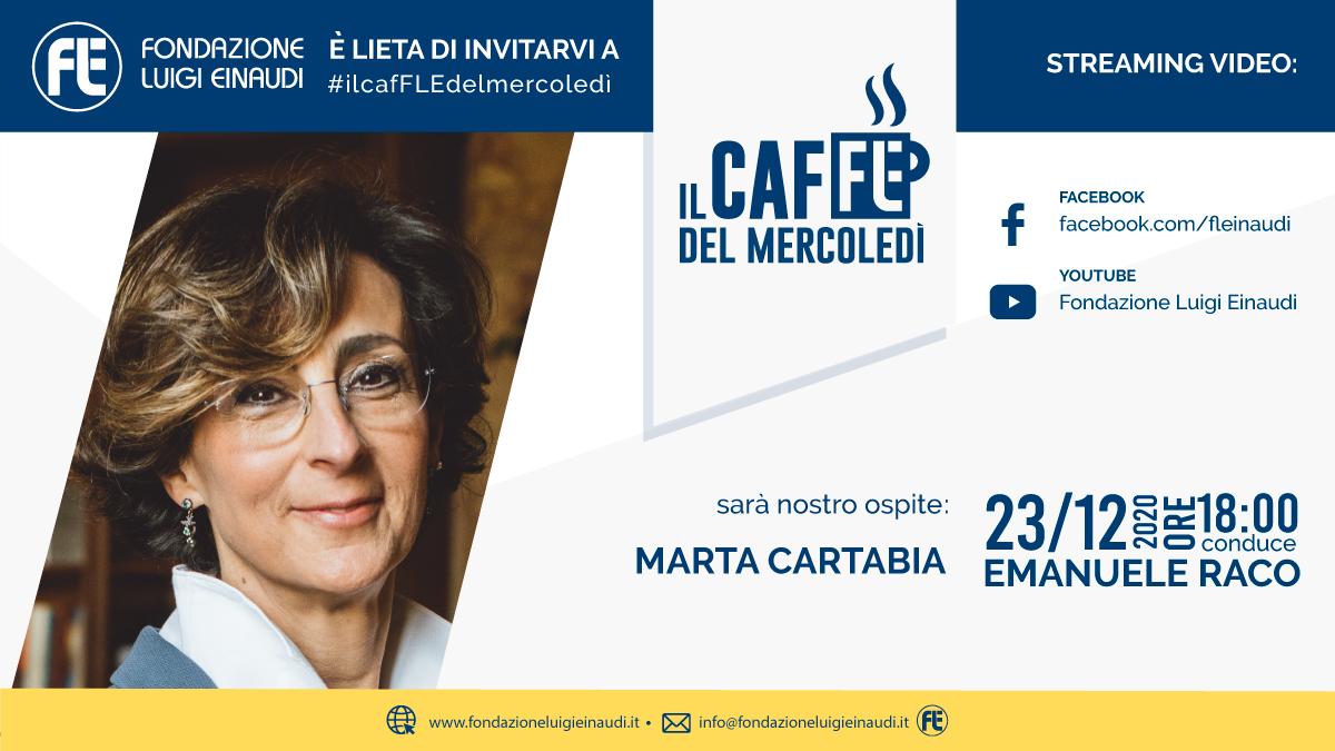 #ilcafFLEdelmercoledì – Marta Cartabia