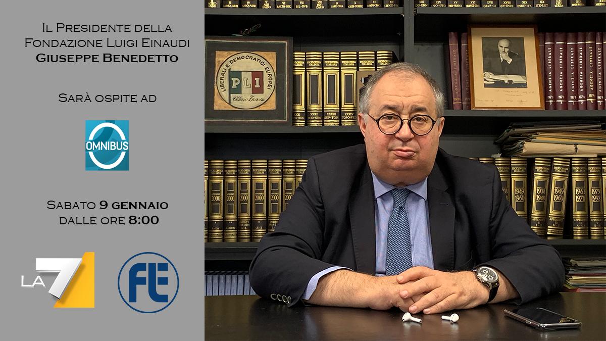 Il Presidente della FLE sarà ospite ad Omnibus su La7 sabato 9 gennaio dalle ore 8:00