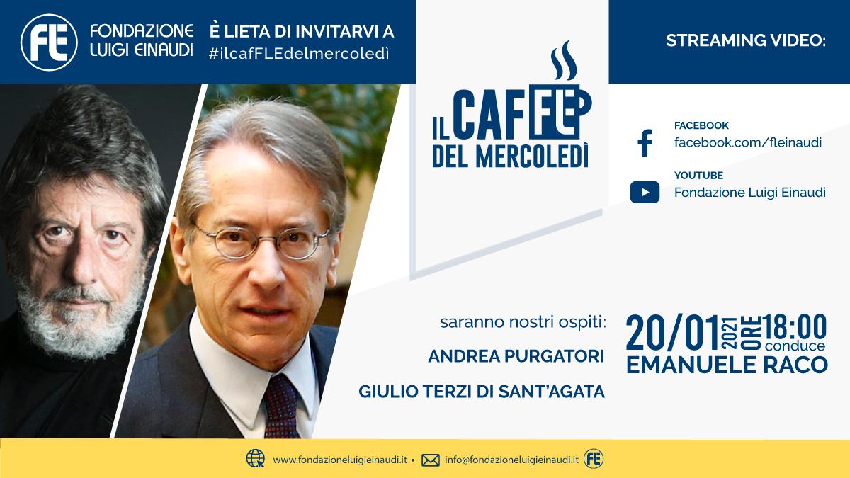 #ilcafFLEdelmercoledì – Andrea Purgatori e Giulio Terzi di Sant'Agata