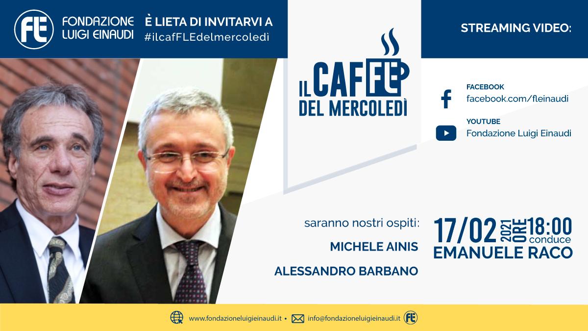 #ilcafFLEdelmercoledì – Michele Ainis e Alessandro Barbano