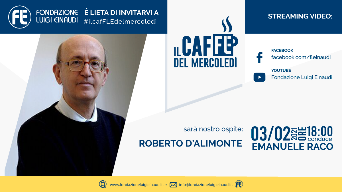 #ilcafFLEdelmercoledì – Roberto D'Alimonte