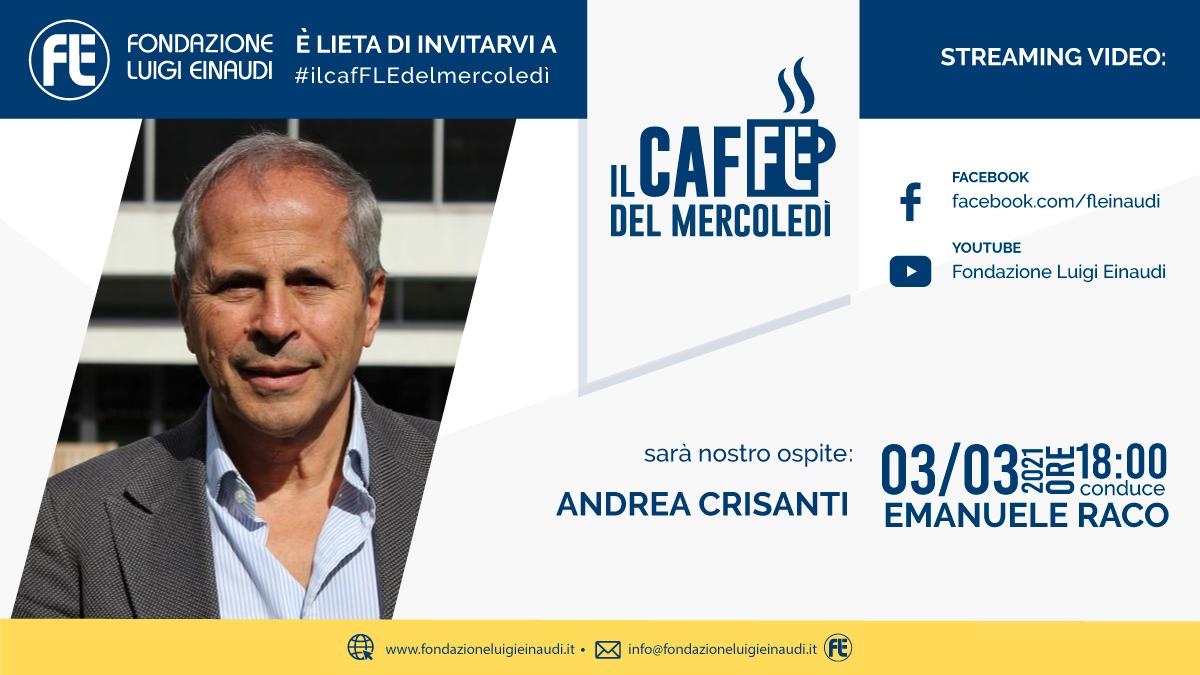 #ilcafFLEdelmercoledì – Andrea Crisanti