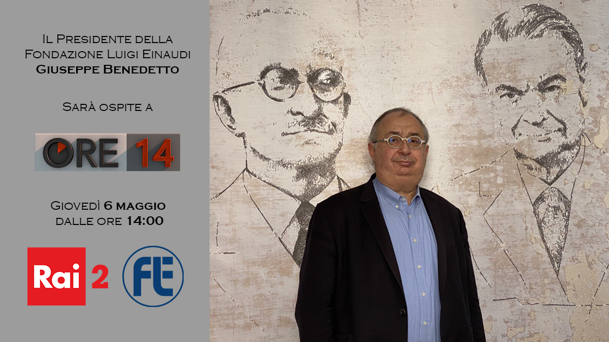 Il Presidente Giuseppe Benedetto sarà ospite ad Ore14 su Rai2 il 6 maggio