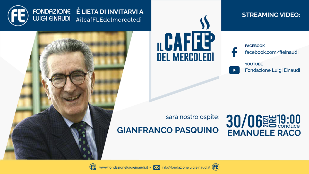 #ilcafFLEdelmercoledì – Gianfranco Pasquino