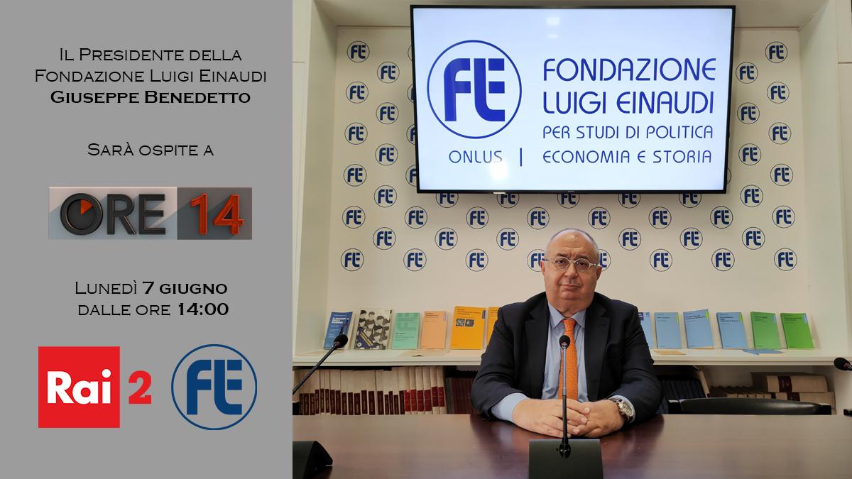 Il Presidente Giuseppe Benedetto ospite ad Ore14 su Rai2 il 7 giugno 2021