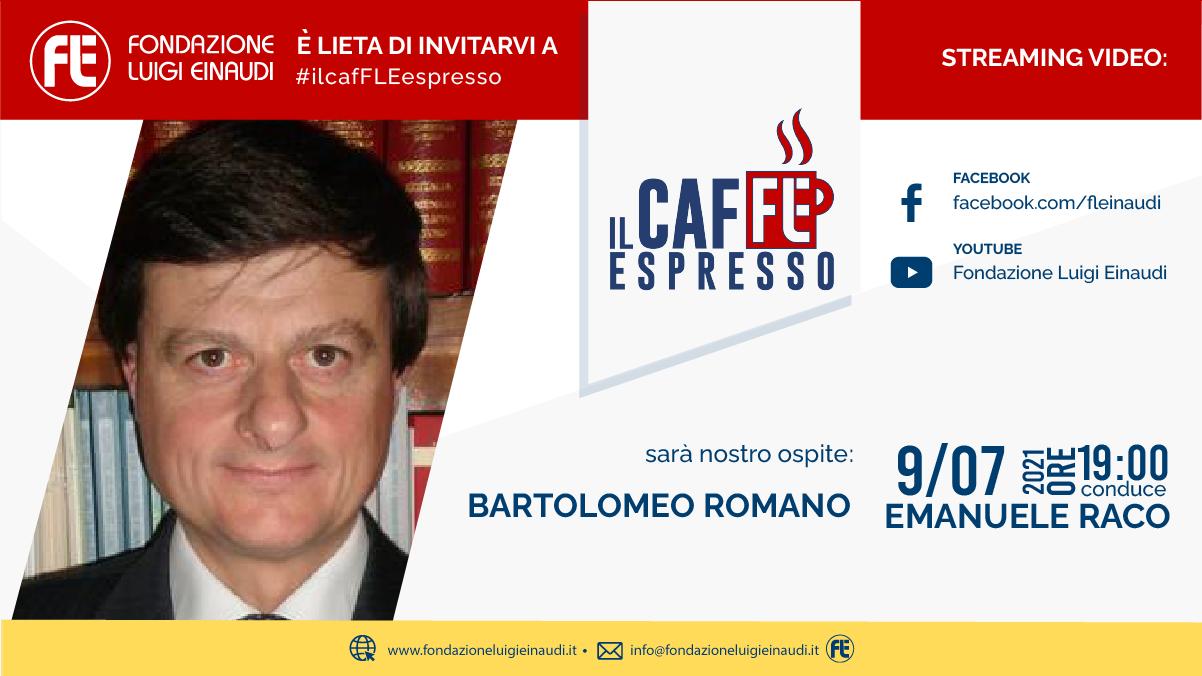#ilcafFLEespresso – Bartolomeo Romano