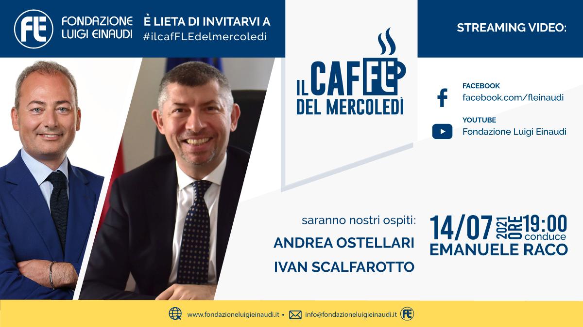 #ilcafFLEdelmercoledì – Andrea Ostellari e Ivan Scalfarotto