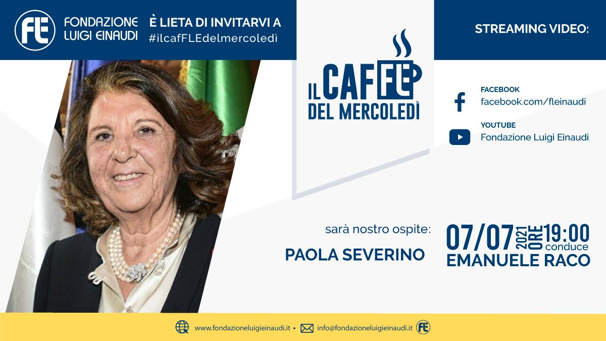 #ilcafFLEdelmercoledì – Paola Severino