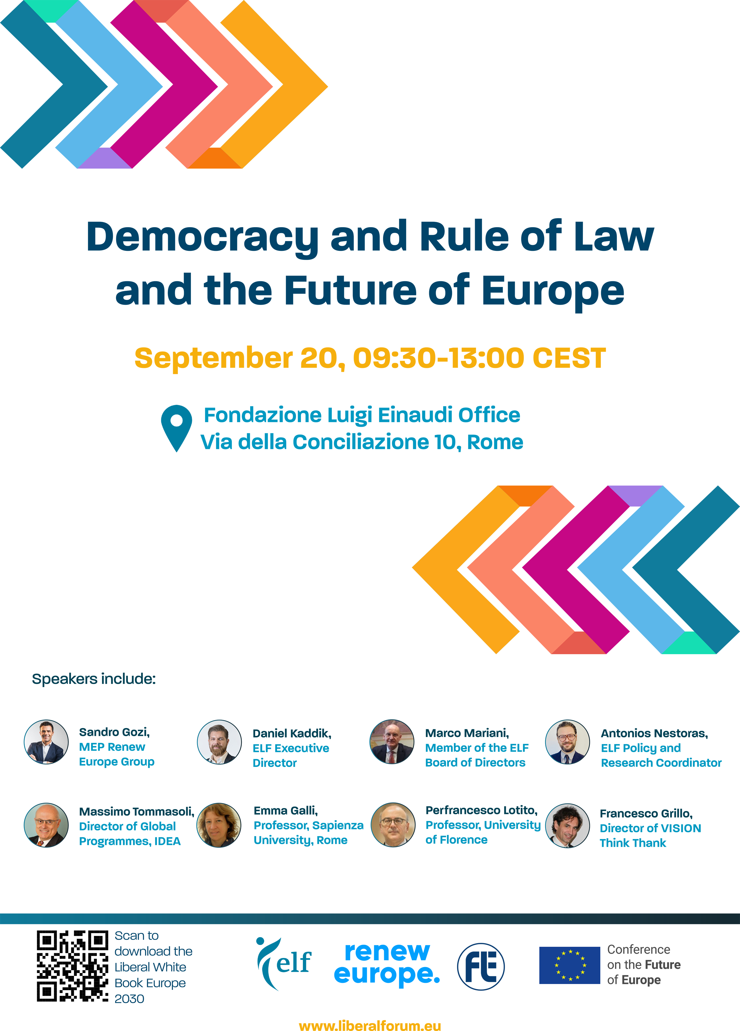 Democracy and Rule of Law and the Future of Europe