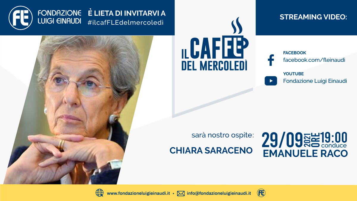 #ilcafFLEdelmercoledì – Chiara Saraceno