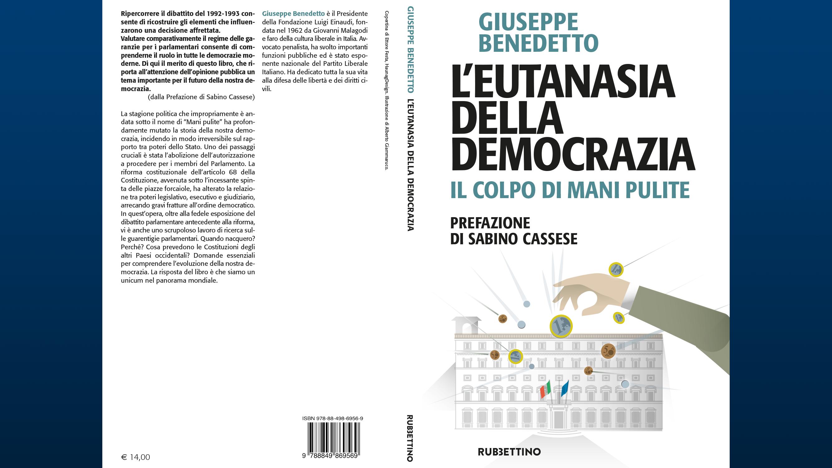 """Video recensione di Davide Giacalone del libro """"L'Eutanasia della Democrazia"""" di Giuseppe Benedetto"""